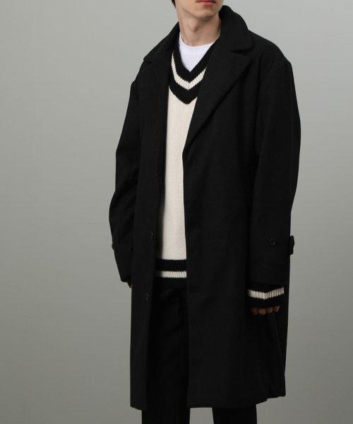 JUNRed(ジュンレッド)/【WEB別注】メルトンウールビッグチェスターコート/ANO69020
