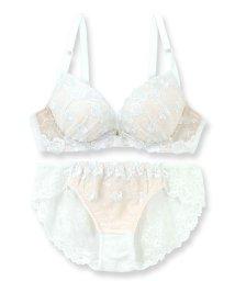 fran de lingerie/Dramatic Rose ドラマティックローズ ブラ&ショーツセット B-Gカップ/501498318