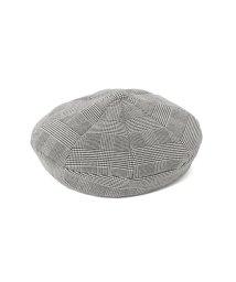 Ray BEAMS/Ray BEAMS / エイト パネル チェック ベレー帽/502348079