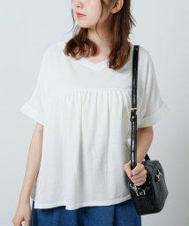 framesRayCassin/スカラップ刺繍Tシャツ/502401212