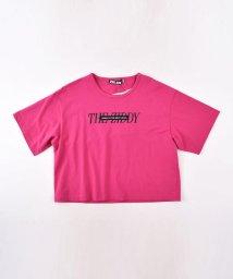 ZIDDY/【ニコプチ掲載】TC天竺ロゴプリントTシャツ/502460613