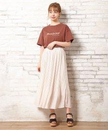 INGNI/ラメロゴTシャツ/502461384