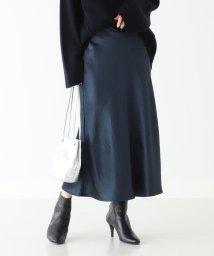 Demi-Luxe BEAMS/Demi-Luxe BEAMS / サテン フレアスカート/502467218