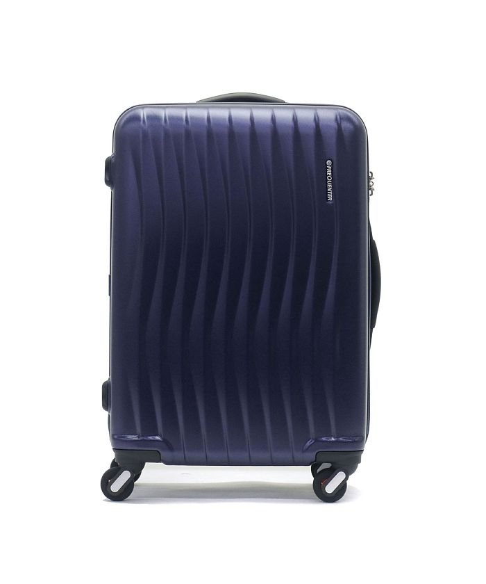ギャレリア フリクエンター スーツケース FREQUENTER WAVE ウェーブ キャリーケース 56L 3~5泊 エンドー鞄 1−621 ユニセックス ネイビー F 【GALLERIA】