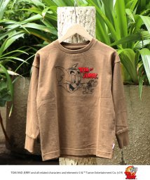 coen/【coen キッズ / ジュニア】Tom and Jerry(トムとジェリー) 刺繍ロングスリーブTシャツ/502467868