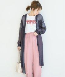Spick & Span/VILLEFRANCHE シースルードットシャツ◆/502468044