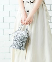 le.coeur blanc OUTLET/LAUGOA透かし編みバッグ/502468267