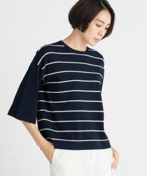 JIYU-KU /【洗える】ビスコースストレッチ ニット/502468566