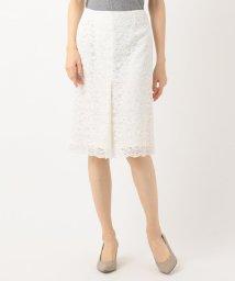 NIJYUSANKU/【マガジン掲載】フラワーレーススカート(検索番号K48)/502468578
