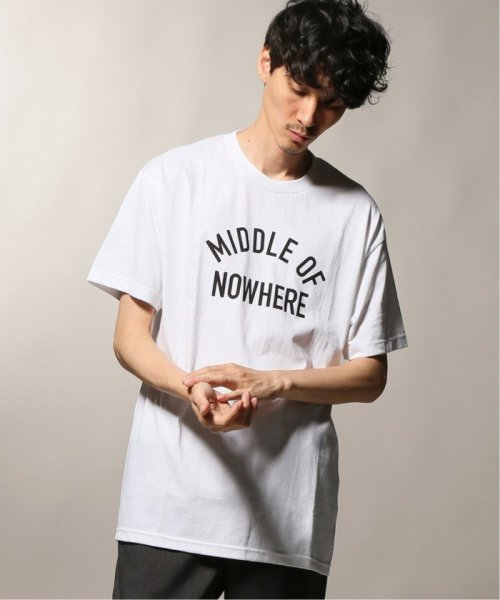 JOURNAL STANDARD relume Men's(ジャーナルスタンダード レリューム メンズ)/THE QUIET LIFE ザ クワイエットライフ  MIDDLE OF NOWHERE Tシャツ/19071465010030
