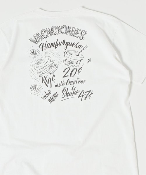 JOURNAL STANDARD(ジャーナルスタンダード)/EGG SNDWCH LABEL BY DOODLES×RIDINGHIGH for HS Tシャツ/19071610001530