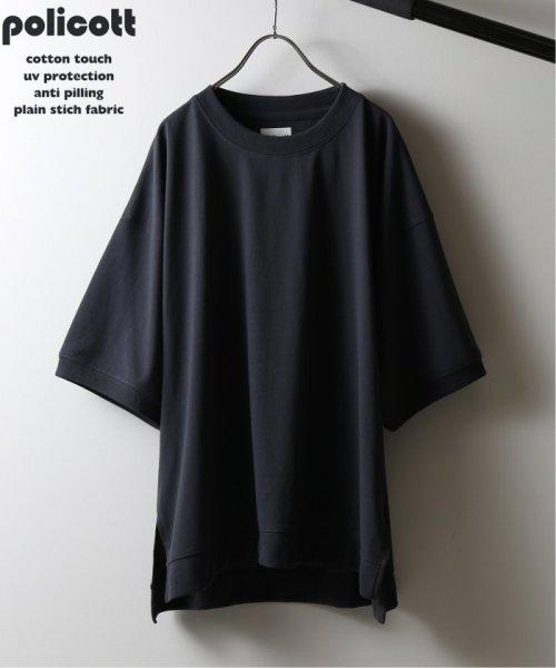 JOURNAL STANDARD relume Men's(ジャーナルスタンダード レリューム メンズ)/《追加》policott 樽型オーバーサイズTシャツ/19071464608030