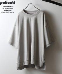 JOURNAL STANDARD relume Men's/《追加》policott 樽型オーバーサイズTシャツ/502469389