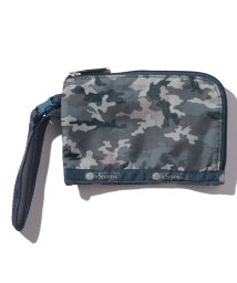 LeSportsac/CURVED COIN POUCH カモブルース/LS0022378