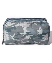 LeSportsac/RECTANGULAR COSMETIC カモブルース/LS0022385