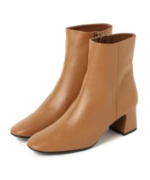 BEAMS OUTLET/Demi-Luxe BEAMS / サイドジップ レザーショートブーツ/502284729