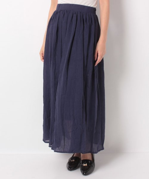 KOBE LETTUCE(神戸レタス)/リネン調マキシスカート/M1846