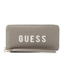 GUESS/ゲス GUESS LILA LARGE ZIP AROUND WALLET (CLOUD VINTAGE WASH)/502469532