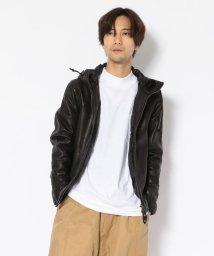 UNCUT BOUND/NCB neat caprice brand(エヌシービーニートカプリスブランド)   SHEEP HOODED JACKET/502469751