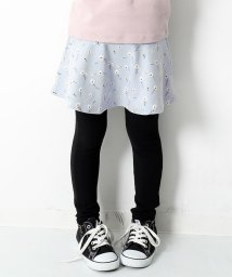 devirock/キッズ 子供服 プリント10分丈スカッツ 女の子/502470056