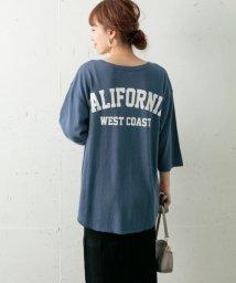 URBAN RESEARCH Sonny Label/Backロゴ七分袖ルーズTシャツ/502470325
