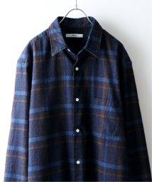 JOURNAL STANDARD relume Men's/《予約》【19FW】インディゴチェック レギュラーシャツ/502471519