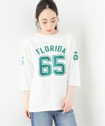 Spick & Span/【Champion】 3/4SleeveフットボールTシャツ/502471836