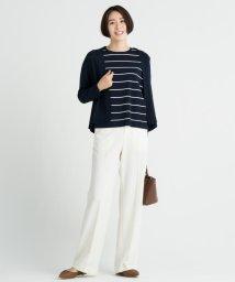 JIYU-KU /【洗える】WASHABLE 2WAY ワイドパンツ/502472010