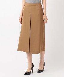 JIYU-KU /【洗える】ELEGANCE TWILL Aラインスカート/502472014