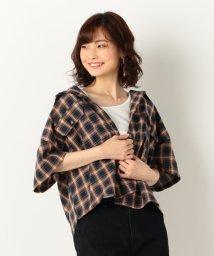 archives/半袖短丈チェックシャツ/502361452