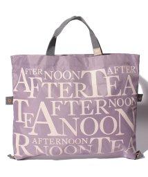 Afternoon Tea LIVING/2WAYロゴバッグ/502458508