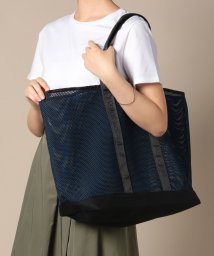 russet/Two Color Mesh Tote【&R】(T-116-WEB)/502466073