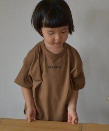 coen/【先行販売・ハッピープライス】WEEKENDチビロゴTシャツ/502467975
