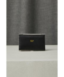 SLY/LEATHER CARD CASE/502472407