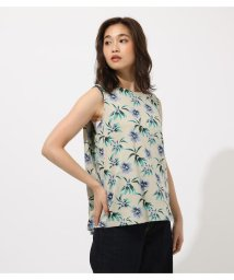 AZUL by moussy/FLOWER PATTERN TANK TOP/502472424