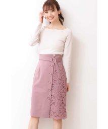 PROPORTION BODY DRESSING/サイドレースタイトスカート/502472462