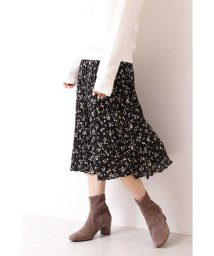 PROPORTION BODY DRESSING/ 美人百花 10月号掲載 ペタルフラワープリントワッシャープリーツスカート/502472463