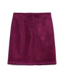 Lily Brown/裾刺繍台形スカート/502472582