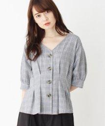 SOUP/グレンチェックシャツ/502472596