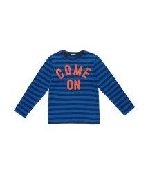 BENETTON (UNITED COLORS OF BENETTON BOYS)/ボーダーアームパッチTシャツ・カットソー/502457187