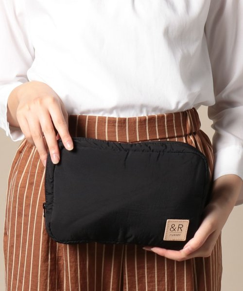russet(ラシット)/Bonding Pouch【&R】(T-118-WEB)/RUZ1092183A0003