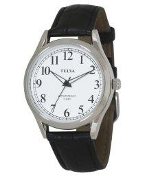 CREPHA PLUS/TELVA テルバ アナログウオッチ メンズ 本革 腕時計【TE-AM031】/502466201