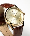 CREPHA PLUS/TELVA テルバ アナログウオッチ メンズ 本革 腕時計【TE-AM032】/502466202