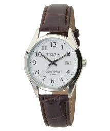 CREPHA PLUS/TELVA テルバ アナログウオッチ メンズ 腕時計 薄型【TE-AM185】/502466216