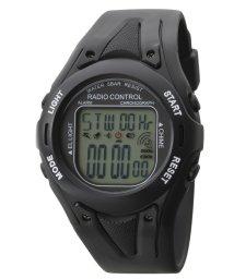 CREPHA PLUS/TELVA テルバ デジタルウオッチ 電波時計 メンズ 腕時計【TE-D190】/502466223