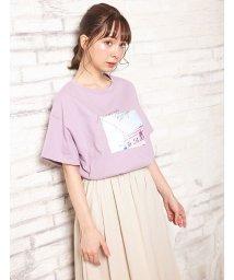 INGNI/転写Tシャツ                                /502470206