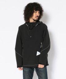 BEAVER/andwander/アンドワンダー nylon double cloth hoodie ナイロンダブルクロスフーディ アノラック パーカ プルオーバー/502472845