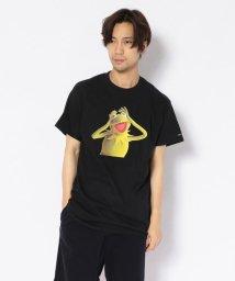 "BEAVER/MANASTASH/マナスタッシュ 別注Movie Tee ""Kermit the Frog"" Tシャツ/502472850"