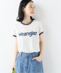 SLOBE IENA/Wrangler WASHED LOGO RINGER Tシャツ/502474181