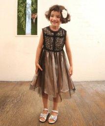 Eimy Peal by POWDER SUGAR Kids/レースハイネック×チュールスカートドレス(KIDS)/502474185